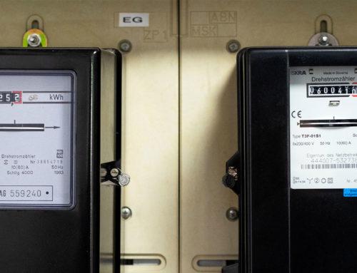 Moderne Stromzähler für präzise Messungen