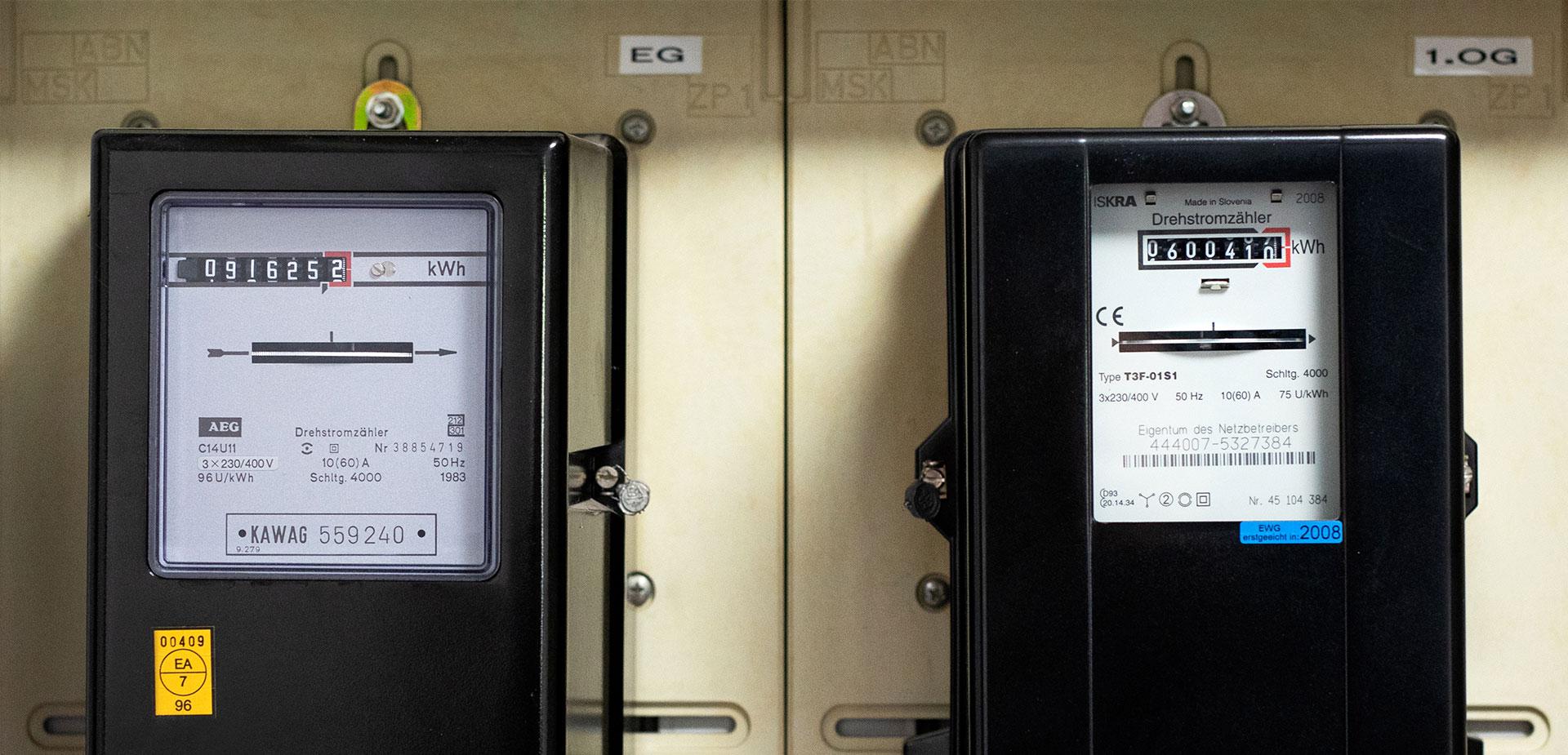 Stromzähler erneuern