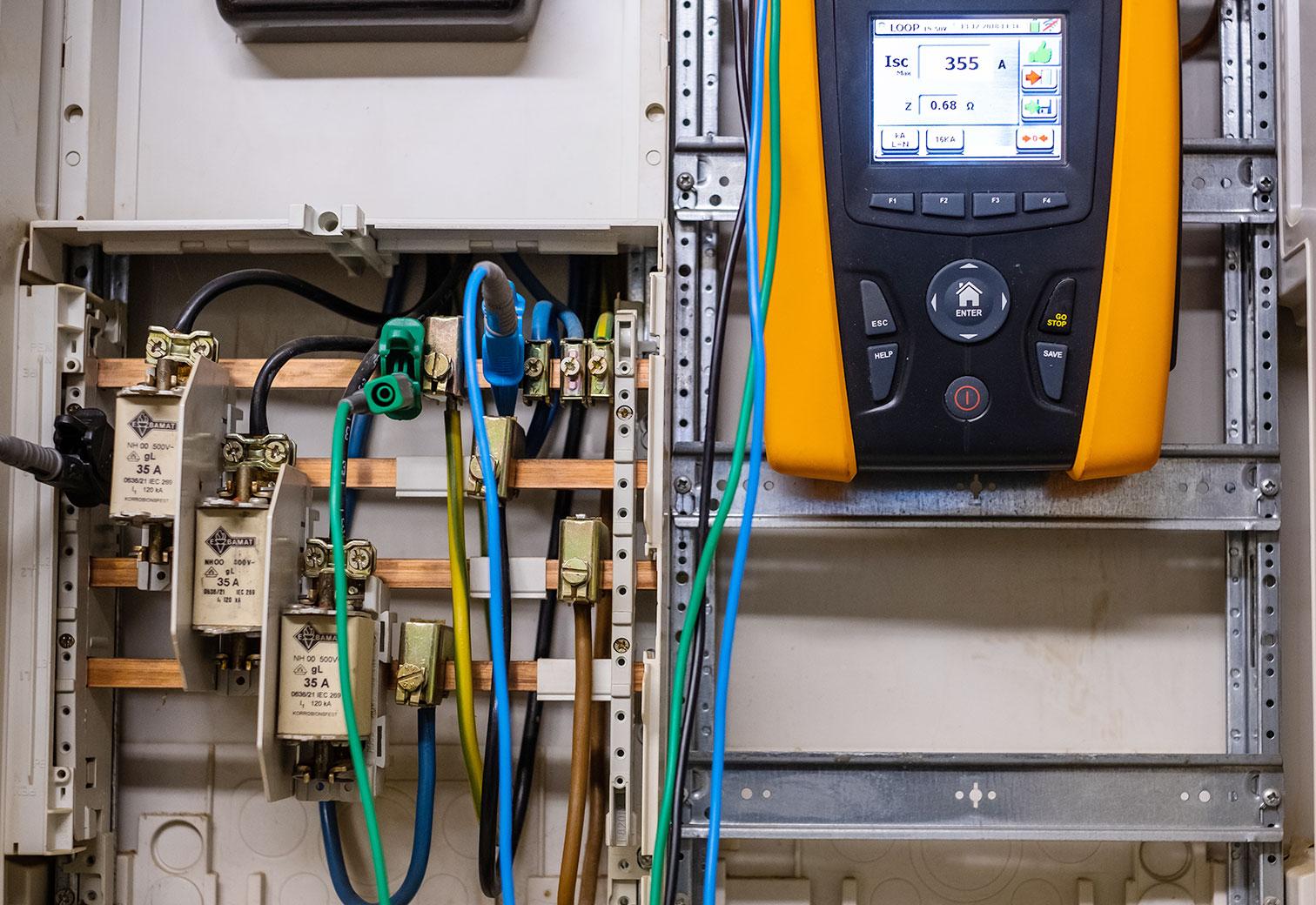Prüfung Elektrogeräte